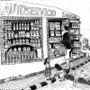 Matbutik i Andalusien